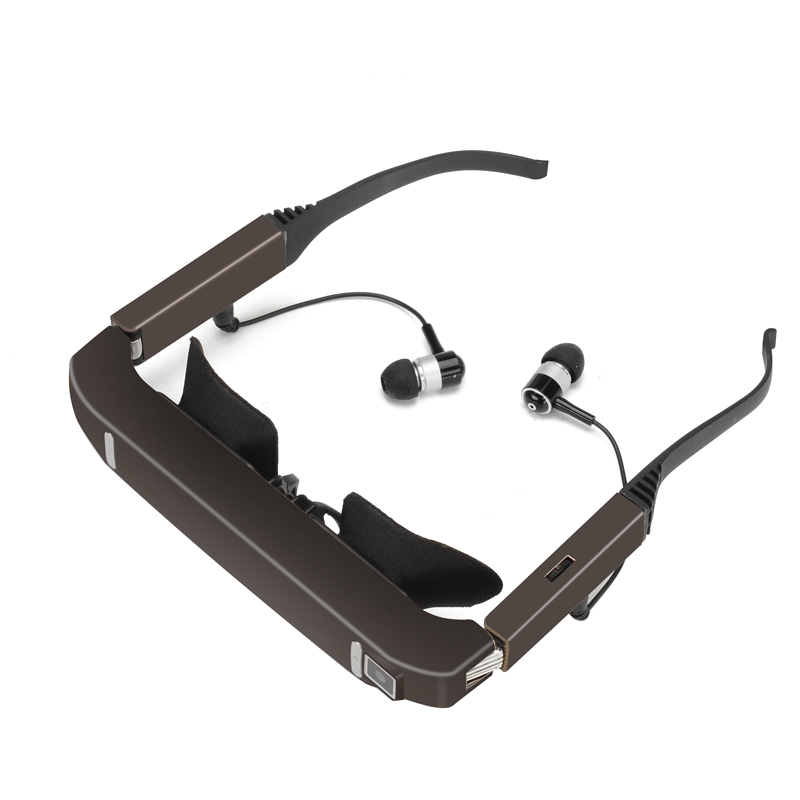 c08db231182c75 Vision 800 3D Video Glasses - Android 4.4, Side By Side Video, 5MP Camera  larger image