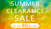 summer clearance sale gadgets promo