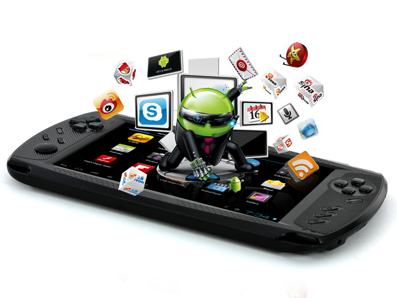 Tablet game console play droid android 4 0 7 polegadas els variedades - Console de salon android ...