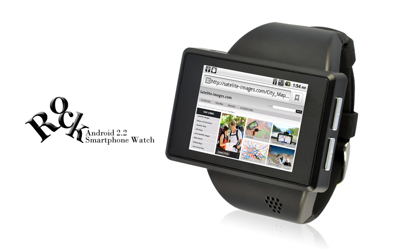 """Android Phone Watch """"Rock"""""""