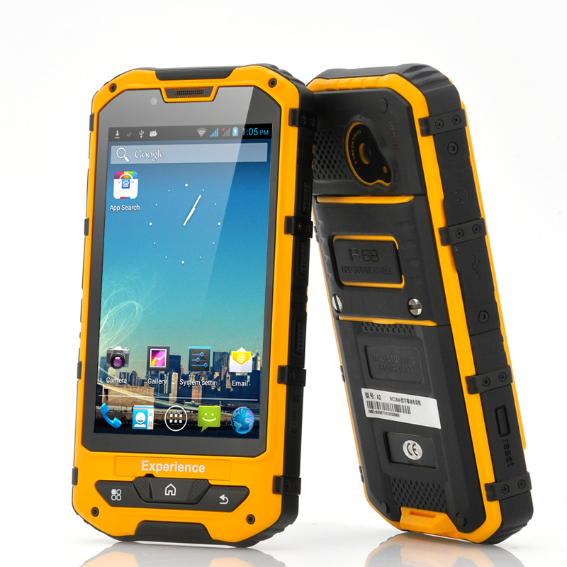 Case Design toughest cell phone cases : ... Phone with 4.3 Inch Screen, Waterproof, Shockproof, Dustproof, 8MP