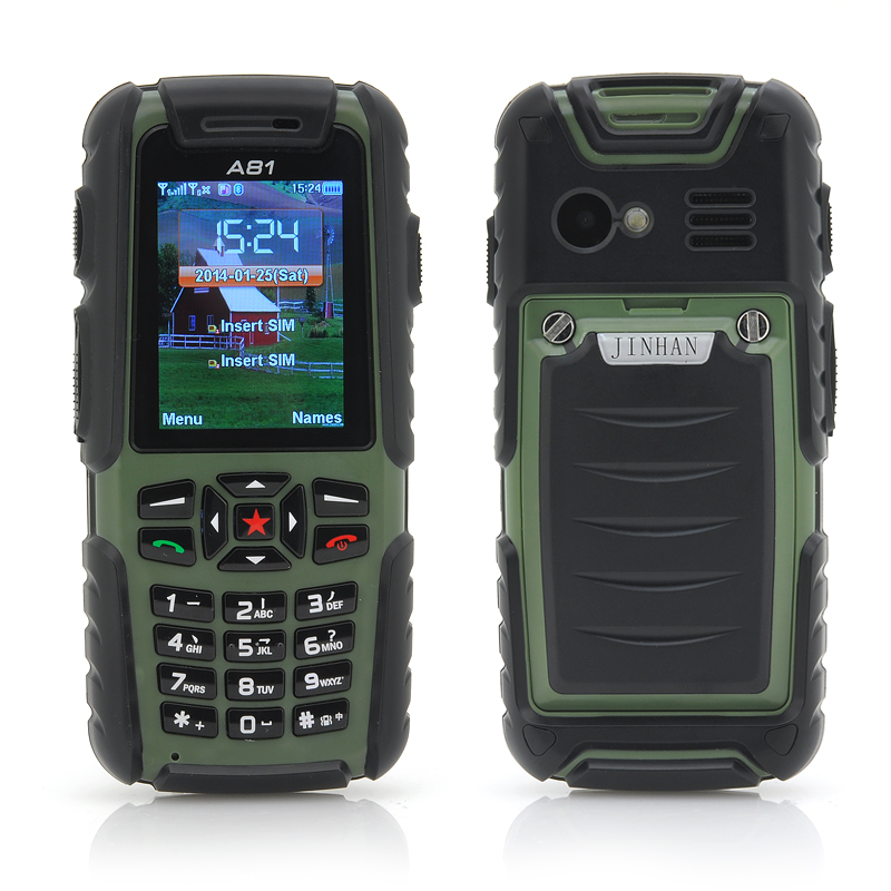 wholesale jinhan a81 phone rugged cell phone from china
