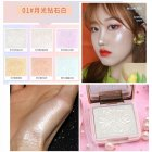 [Indonesia Direct] NOVO Highlighter Women Brighten Face Foundation Palette Highlighter Cosmetics Makeup Face Palette