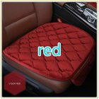 [US Direct] Simple Comfortable Car Front Cushion Non-slip Breathable Car Cushion red