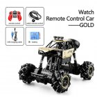1:16 Rc Cars 4wd Watch Control Gesture Induction Remote Control Car Machine for Radio-controlled Stunt Car Toy Cars RC Drift Car 2031 gold
