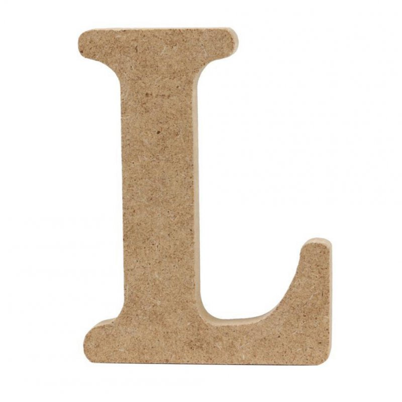 1.5CM Thick Wooden Letters Diy Wedding Handicrafts Home Decoration