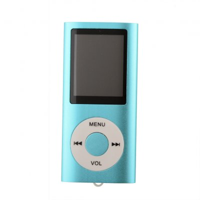 1.8 Inch Screen MP4 Video Radio Music Movie Player SD/TF Card MP4 Player  blue_1.8 inches