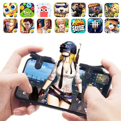 1 Pair Mobile Phone Gaming Shooter Controller