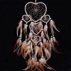 1 Piece Wall Hanging or Car Hanging Indian Original Style Dream Catcher Decoration Brown