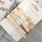 1 Set Women Delicate Fashion Style Hair Clip No. 1 hairpin set