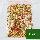1000 Pcs 3D Fruit Pastry Tiny Slices Polymer Clay DIY Beauty Nail Stickers Decorations Fruit 1000 pieces / bag