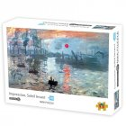 1000Pcs/box Paper Jigsaw Puzzle Kid Educational Intellectual Adult Decompressing Fun Family Game Sunrise impression