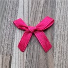 1000pcs/lot Handmade Bow Flower Tie Appliques for Wedding Scrapbooking Crafts Accessory 8#