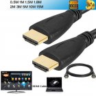 1080P High Speed HDTV PS3 3D HDMI Cable V1.4 Connection
