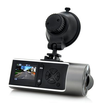 1080p HD Car Dashcam w/ Wide Angle Lens