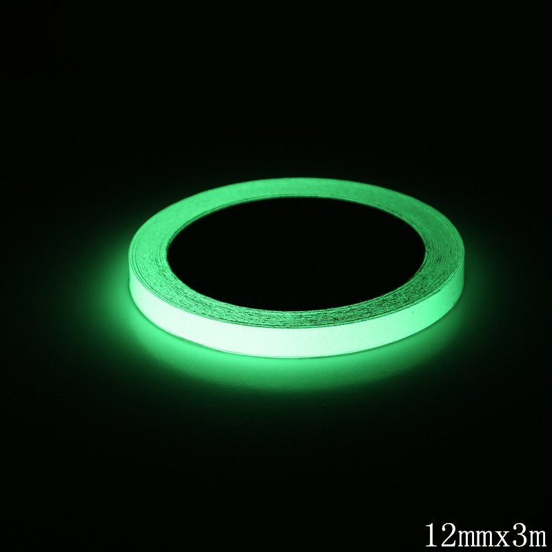 10M Bright Night Vision Ribbon Glow In Dark Sticker Home Decoration Security Safety Warning Security Reflective Tape Ribbons
