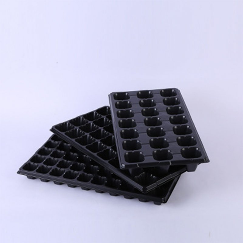 10Pcs Seedling Trays for Seed Germination Succulent Plants Flower Growing 32 holes 45 grams (pvc) 10 sheets