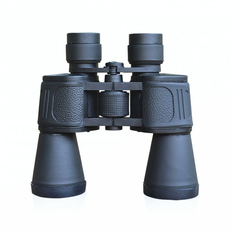 10X50 Powerful Binoculars Wide Angle Zoom Porro Prism Telescope For Outdoor Sightseeing Hunting binocular