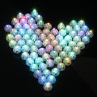 10pcs  20pcs  50pcs 100pcs Mini Plastic Balloon Light Ball Shape Party Christmas LED Decoration Window Scene Layout(Not Include Balloon) 50Pcs lights