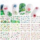 12 Pcs/set 3D Nail Sticker Flower Animal Decals DIY Decorations Manicure Nail Art Tips Stickers