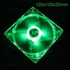 12CM PC Computer Fan 4 LED Light Fan PC CPU Cooling Cooler Fan for Computer Case CPU Cooler Radiator  green