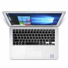 13.3inch 6GB RAM 64GB SSD Ultra-slim Laptop Intel N3350 HD 1920*1080 Windows 10 OS WiFi Bluetooth Notebook  Silver_6+64