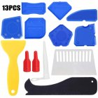 13pcs Caulking  Tool For Bathroom Kitchen Sealing Hand Caulk Removal Tool 13-piece set