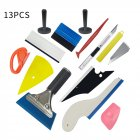 13pcs/setCar Vinyl Tool Set Carbon Fiber Tool Set Window Magnet Holder