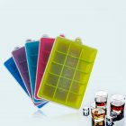15-Hole Food Grade Silicone Ice Cube Mold