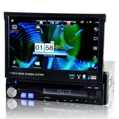 3G Android 1DN 7 Car DVD - Discover