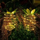 1PC Pineapple Shape Hanging Decorative Light Strip for Garden Lawn Lighting Warm White