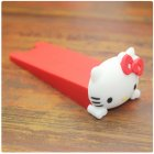 1PC/Set Cartoon Doll Door Stopper Soft Door Windproof Baby Anti-pinch Door File Red KT cat_9.5*3.5CM