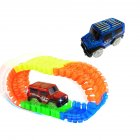 1Pc Children LED Electric Car Toy for Glow Tracks Shining in the Dark Amazing Racetrack Race Car(Not Include Tracks)