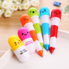 Mini Retractable Pill Ball Point Pen