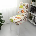 1pc Simple Stretch Chair Cover Home Half Pack Printed Chair Cover Colorful One size