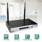 2.4G 300Mbps Large Power Automatic MDI/MDIX Applications MTK7620N Wifi Router black