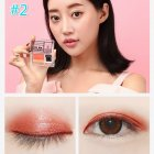 2 Colors Eye Shadow Palette For Women 3 second Eye Shadow Make up With Brush