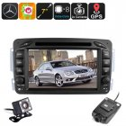 Buy 2 DIN Android Car Mercedes Benz - Region Free DVD, Dash Cam, 7 Inch touchscreen, 6.0, BT, Wi-Fi, Hands Free, DAB