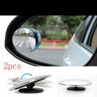 2 PCS Blind Spot Mirror Round HD Convex Rear View Mirror Abyss