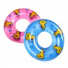 2 Pcs Baby Bath Toy Inflatable Swim Ring Toy