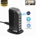 5 USB Ports Hub 4k Wifi Camera - US Plug