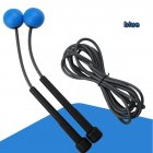 2 in 1 Wireless Skipping Rope Indoor Gym Fitness Cordless Skipping Rope Burning Calorie blue