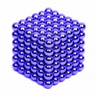 216PCS Puzzle Cube 3mm Magnetic Ball Decompression Toy DIY Toy Navy blue