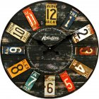 23CM Stylish Wooden Wall Clock Home Decoration Gift  820548