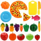 Plastic Cutting Fruits and Vegetables Set