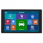 256MB+8G HD 9 inch Capacitive Touch Screen Portable GPS Navigator North America map