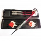 26g 3pcs Copper Safe Dart with Soft Tip Indoor Sport Darts With Colorful Flight for Games  With red rod + L18