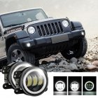 2pcs/set 4 inches 30 watts 6000K for jeep LED Angel Eye Fog Lamp White light