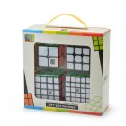 2x2 3x3 4x4 5x5  Cube Toy Set Puzzle Magic Cube black