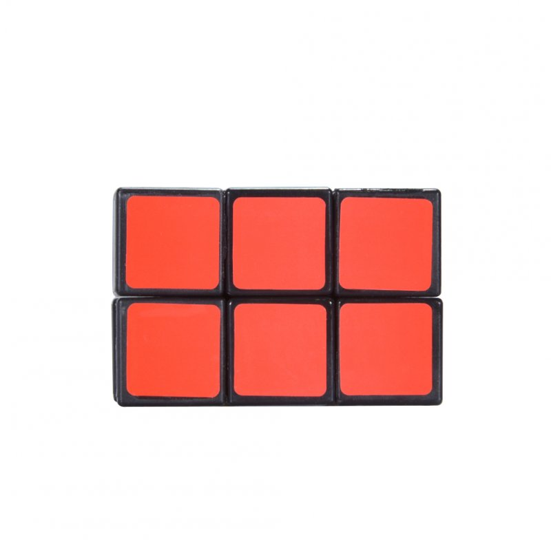 [US Direct] 2x2x3 Black Cuboid Cube Twisty Puzzle Smooth